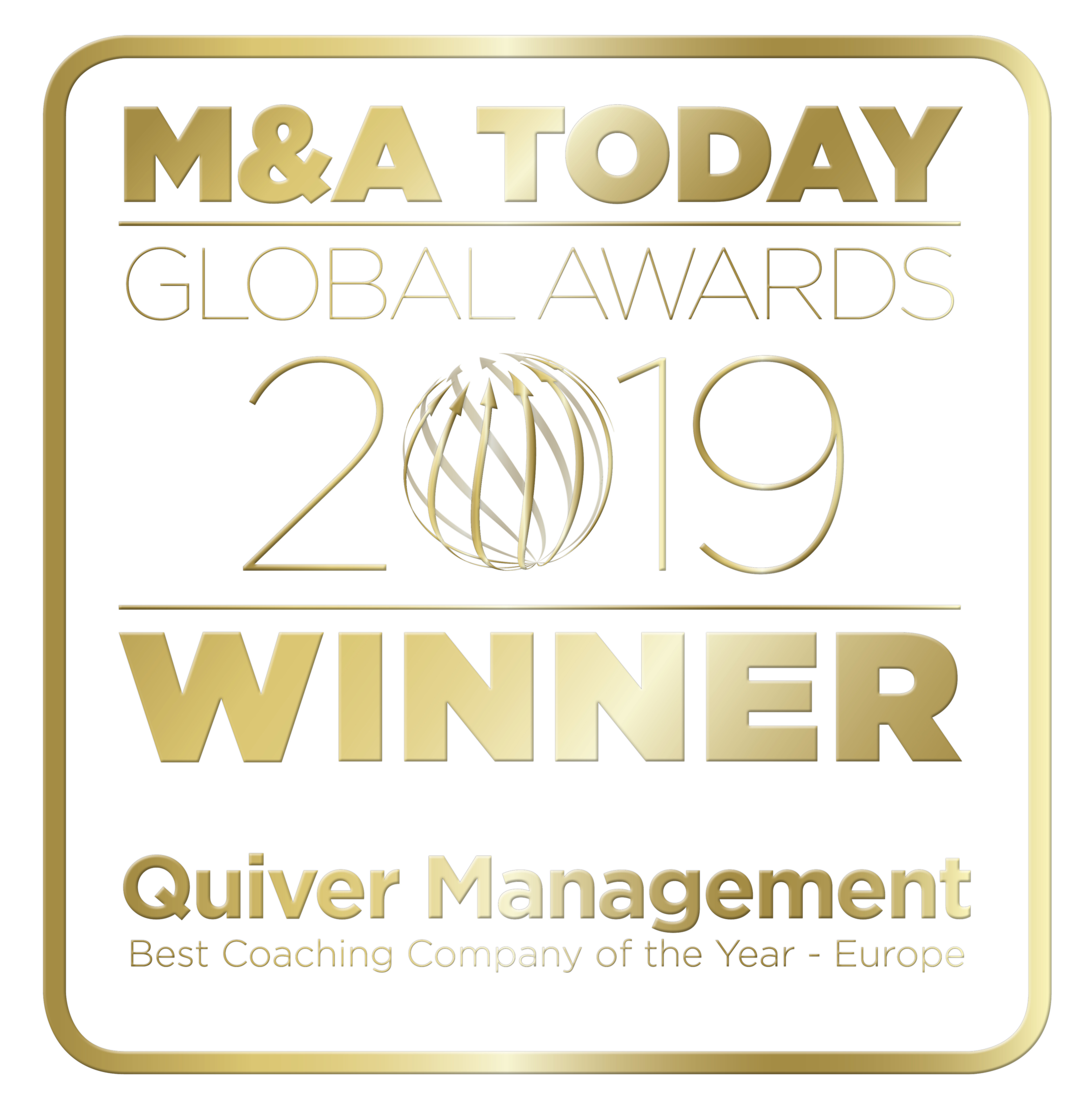 Quiver Management M&A Global award winner